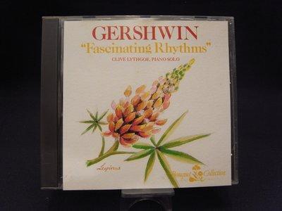 *阿威的音樂盒‧CD‧*【絕版 法國製 GERSHWIN Fascinating Rhythms】片況佳。