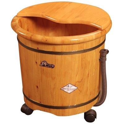 香柏木泡腳木桶家用高深桶過膝洗腳盆足浴桶泡腳桶木質過小腿神器xbd免運