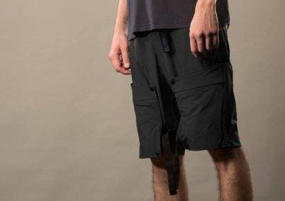 ☆AirRoom☆【現貨】2018SS OqLiq AdHeRe adhere shorts 黑 短褲 口袋 機能 拉鍊