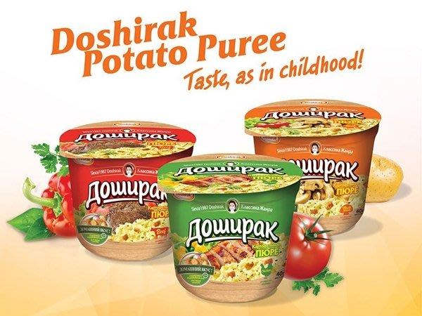 【BOBE便利士】俄羅斯 多食樂 馬鈴薯泥 40g