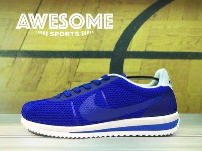 [歐鉉]NIKE CORTEZ ULTRA BR 藍白 阿甘 透氣 輕量 復古 慢跑鞋 男鞋 833128-401 桃園市