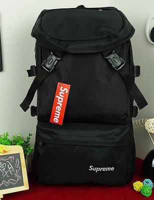 雙肩女休閒韓版潮旅行背包男大容量迷彩登山運動書包(升級板)