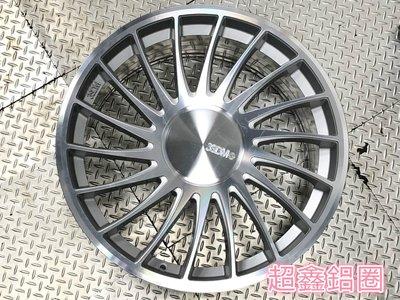 超鑫鋁圈 正 3SDM 0.04 海拉風 20吋鋁圈 5孔120 5孔112 前後配 VIP 銀底車面