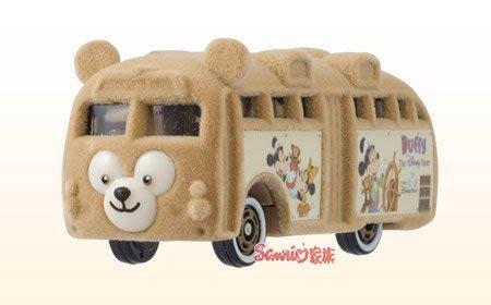 《東京家族》現貨日本東京迪士尼海洋限定Dream TOMICA  夢幻DUFFY達菲熊巴士 小汽車合金車