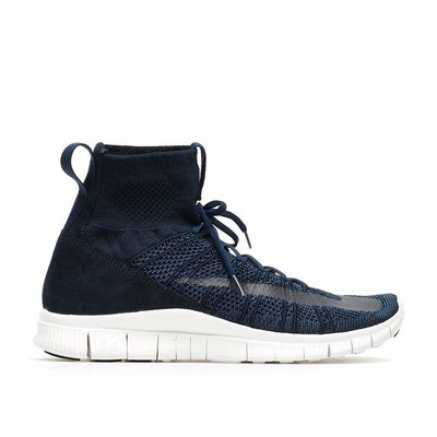 Nike Free Flyknit Mercurial Superfly 深藍配色  襪套鞋 US11號 二手 9成新