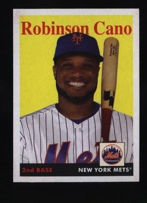 2019 Topps Archives #30 Robinson Cano - New York Mets