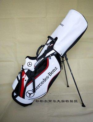 後背包奔馳高爾夫球包男女通用款支架包雙肩背包PU防水料腳架袋golf男
