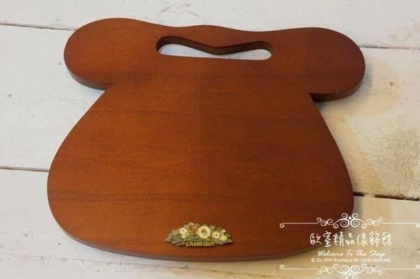 ~*歐室精品傢飾館*~ 台灣製 木製 浮雕 玫瑰 電話轉盤架~新款上市~