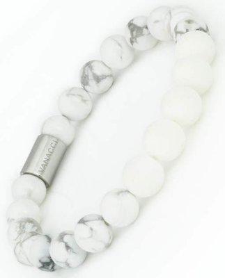 【Vanacci】英國香水石墜手環現貨,白色大理石女款專屬,維持香味7倍時間,僅需4分鐘,不輸Pandora