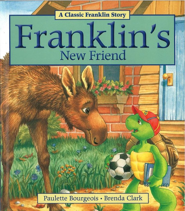 *小貝比的家*FRANKLIN'S NEW FRIEND/平裝書/7~12歲/第三階