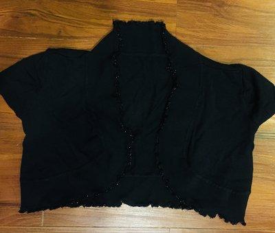 禮服洋裝 超短針織小外套 罩衫 有彈性 Xs