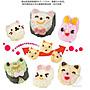 【小兔小貓小熊 三件套】日本 便當輕食兒童...