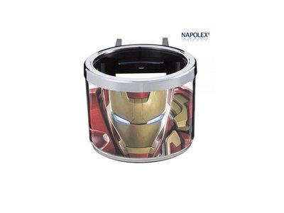 《達克冷光》NAPOLEX 鋼鐵人冷氣孔飲料架 ML 15