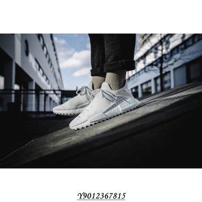 【你穿幾號】Adidas PW Human Race NMD TR 純白 菲董 魚鱗爆 男女 AC7031