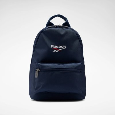 =CodE= REEBOK CLASSIC VECTOR MINI BACKPACK 小型帆布後背包(藍) FN1564