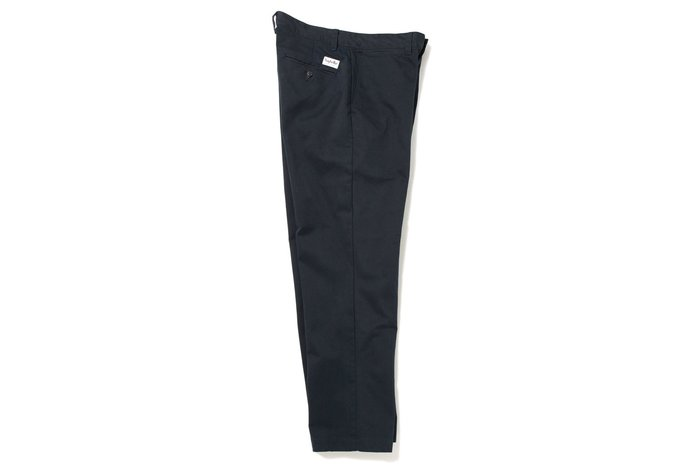 """[ LAB Taipei ] SAYHELLO """"DAILY WORK CHINO WIDE-FIT"""" (Navy)"""