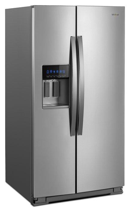 【棋杰電器】Whirlpool惠而浦 WRS588FIHZ 840公升/對開門冰箱/抗指紋不鏽鋼