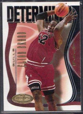 00-01 FLEER NBA HOOPS PROSPECTS DETERMINED #8 ELTON BRAND