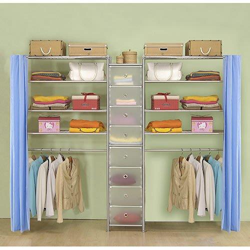 【中華批發網DIY家具】D-62C-03-W4型90+pp+W4型90衣櫥置物櫃-(前罩)不織布