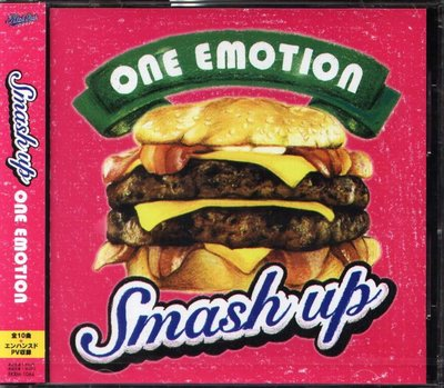 K - Smash Up - One Emotion - 日版 CD+1VIDEO - NEW