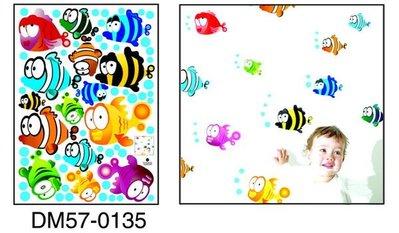 ☆意樂舖☆大款DM57-0135第三代可移動式DIY藝術裝飾無痕壁貼/牆貼/防水貼紙