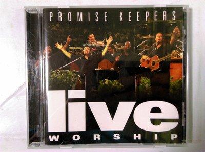 昀嫣音樂(CD1) 福音音樂 promise keepers live worship 片況如圖 售出不退 購買請慎重