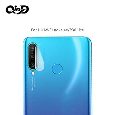 --庫米--QinD HUAWEI nova 4e/P30 Lite 鏡頭玻璃貼(兩片裝) 鏡頭保護貼 硬度9H