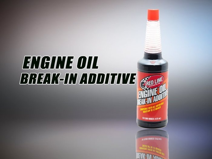 《達克冷光》RED LINE Engine Oil Break-In Additive