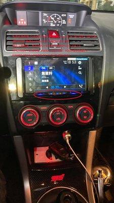 弘群汽車音響  SUBARU WRX 升級 Pioneer AVH-Z9250BT DMH 無線CarPlay 無線
