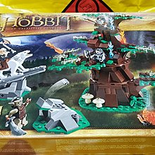 Lego 79002 The Hobbit Attack of the Wargs 哈比人系列 魔戒