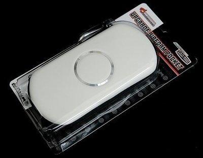SONY PSP DRAGON 副廠 主機包 鋼圈包 收納包 耐衝擊防撞包 白色【台中恐龍電玩】