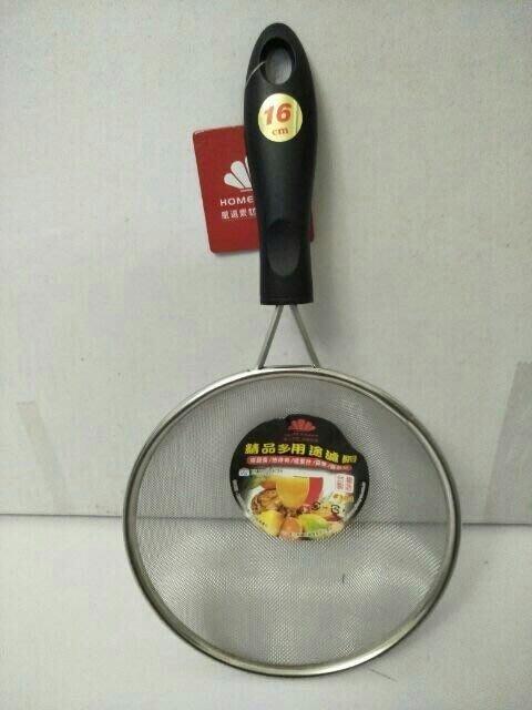濾網 果汁網 油炸網 濾豆漿 304不鏽鋼 篩麵粉 濾果汁16cm台灣製造 一入