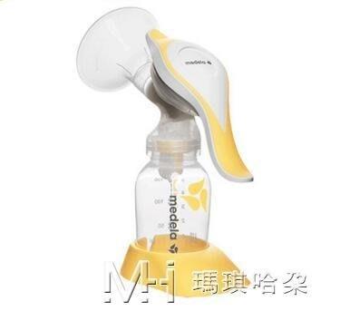 手動吸乳器 孕媽產后泌乳吸乳器多功能儲奶吸乳 【安可居】