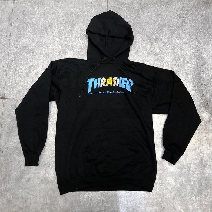 【FAITHFUL】THRASHER ARGENTINA HOOD【144682】帽T 黑