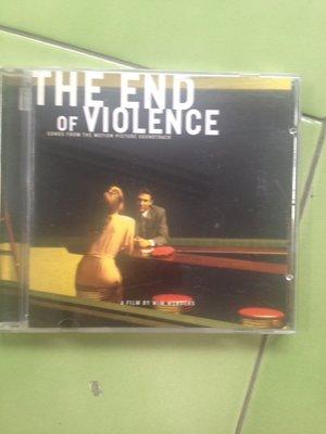 The End of Violence終結暴力電影原聲帶(美國版,Ry Cooder,Spain,Tom Waits.)