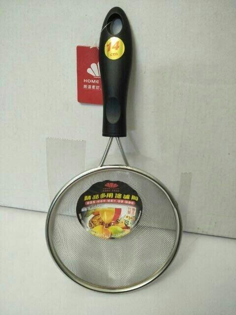 濾網 果汁網 油炸網 濾豆漿 304不鏽鋼 篩麵粉 濾果汁 14cm台灣製造 一入