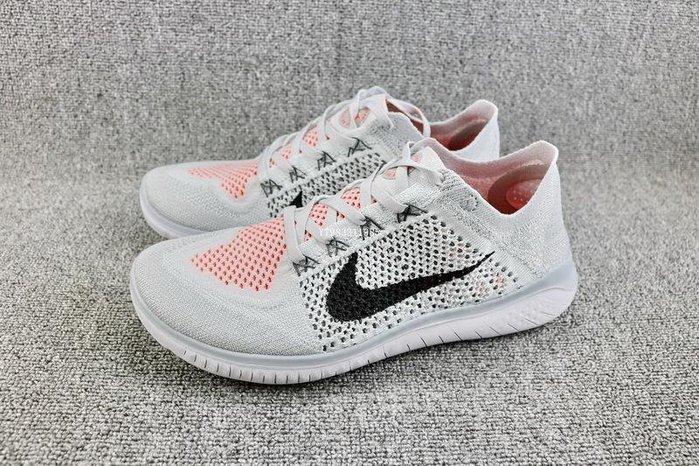 Nike FREE RN FLYKNIT 灰白 經典 編織 休閒運動慢跑鞋 男女鞋  942838-003