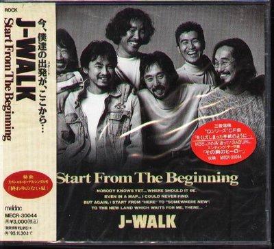 K - J-WALK - Start From The Beginning - 日版 2CD - NEW JAYWALK
