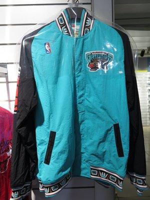 iSport愛運動 M&N TEAL AUTHENTIC WARM UP NBA熱身外套 MNEGOU01VGT 藍綠