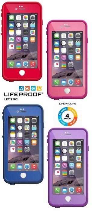 Lifeproof for iPhone 6 fre 系列 防水 防摔 防震 軍規 台灣行星國際 代理公司貨  防水殼