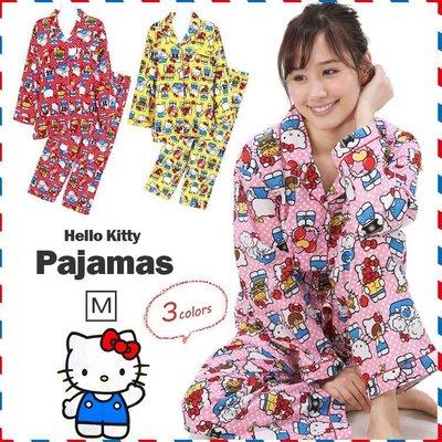 【禮物】凱蒂貓hello Kitty 日本=三麗鷗 _* 居家服睡衣裝MS-8==