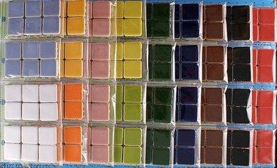 西西s手工藝材料 32531 馬賽克造型磚-正方(6入) 飾品配件 網美拍照 文創 兒童DIY 水鑽貼飾 滿額免運