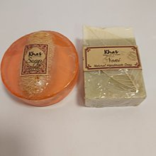 全新品,Khas Soap And KhasNoni Soap,100%全新品末拆張及末用過。MADE IN THAlLAND。$400