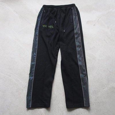 【車庫服飾】On-Air Clothing 反光條寬褲 黑色