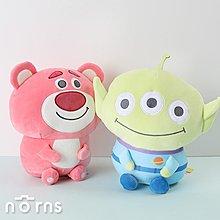 【玩具總動員4軟QQ坐姿娃娃12吋】Norns迪士尼正版 三眼怪 熊抱哥 娃娃