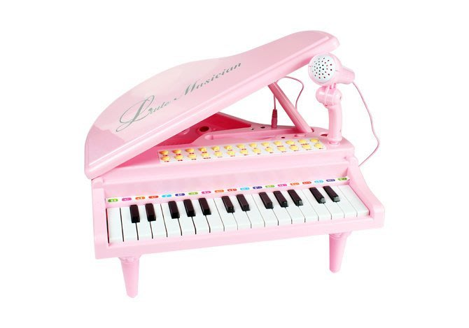 【W先生】兒童 31鍵 桌上型 電子琴 鋼琴 麥克風 可錄音 可調音量 音樂 樂器 玩具