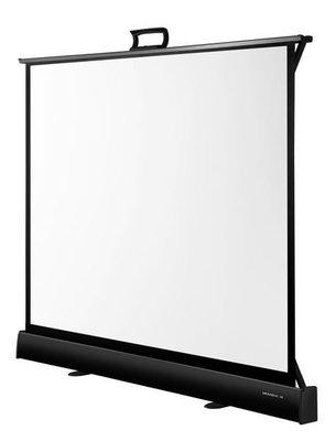 【行展國際】批發價可議→ Grandview 50吋氣壓式布幕 輕便可攜 適用任何桌型 微型投影機 現貨 另售60吋04