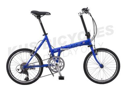 [ 吉-KHS單車館 ] F20-JJ 功學社摺疊車 (自行車/單車/腳踏車/變速車) (F20JJ)