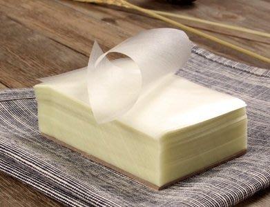 【烘焙百貨】食用級糯米紙6.5X7.5公分 約250入