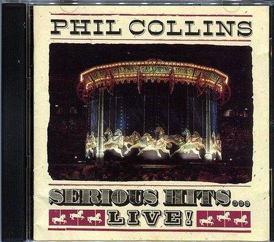 【嘟嘟音樂2】菲爾柯林斯 Phil Collins - 超級演唱會專輯 Serious Hits...Live!